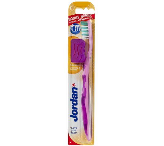 Jordan Advenced Medium szczoteczka do zębów  - mix kolorów 1 szt.
