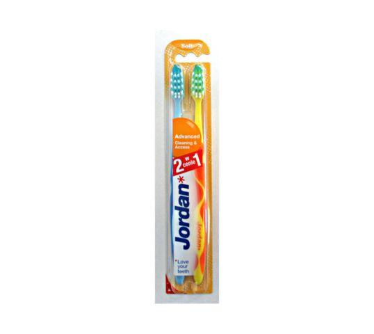 Jordan Advenced Soft Duo szczoteczka do zębów - mix kolorów 1 szt.