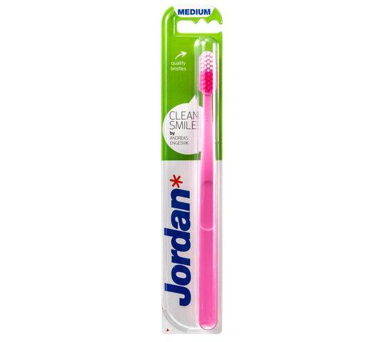 Jordan Clean Smile szczoteczka do zębów medium 1 szt.