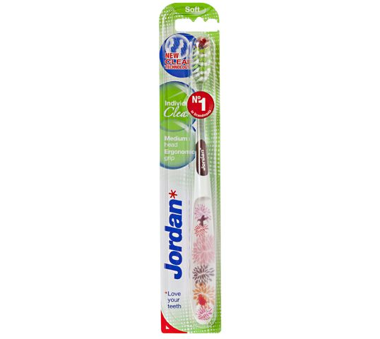 Jordan Individual Clean Soft szczoteczka do zębów - mix kolorów 1 szt.