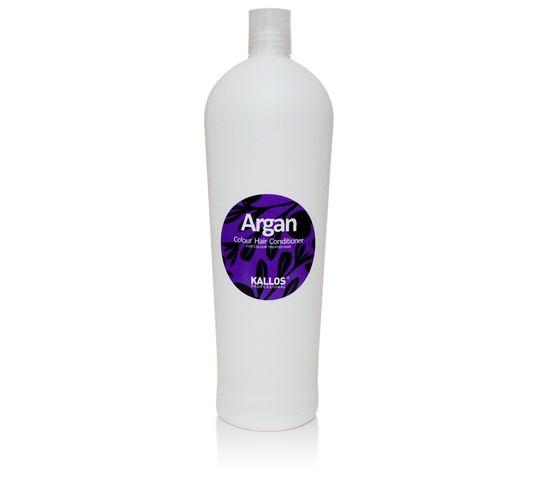 Kallos Argan Colour Hair Conditioner arganowa odżywka do włosów farbowanych 1000ml