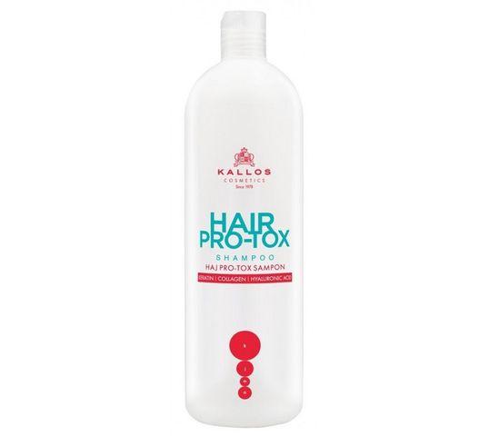 Kallos Hair Pro-Tox Hair Shampoo szampon do włosów z keratyną kolagenem i kwasem hialuronowym 500ml