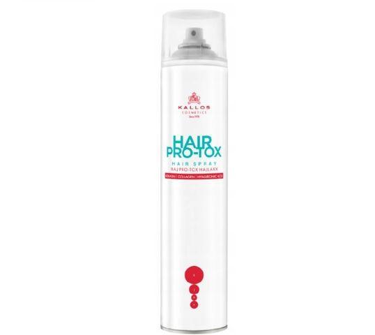 Kallos Hair Pro-Tox Hair Spray lakier do włosów 400ml