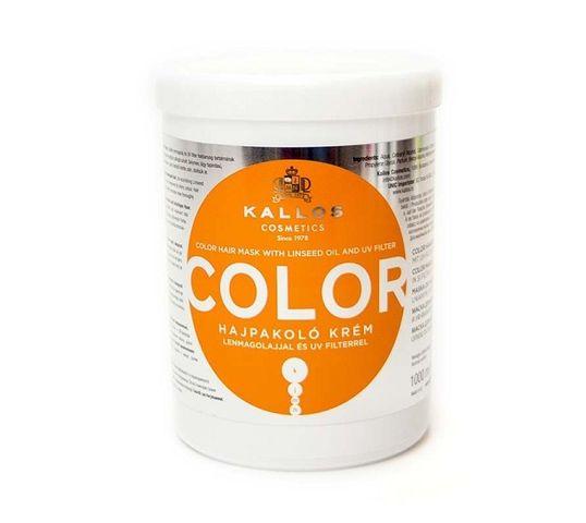 Kallos KJMN Colour Mask maska kondycjonująca i chroniąca kolor do włosów farbowanych 1000ml