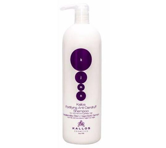 Kallos KJMN Fortifying Anti-Dandruff Shampoo przeciwłupieżowy szampon wzmacniający do włosów 1000ml