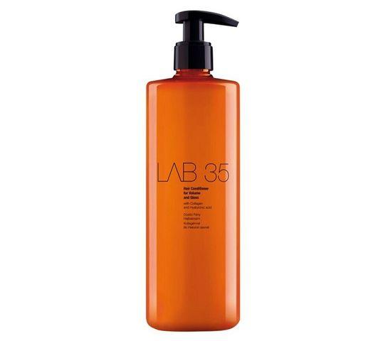 Kallos LAB 35 Hair Conditioner For Volume and Gloss wzbogacający balsam do włosów Collagen & Hyaluronic Acid 500ml