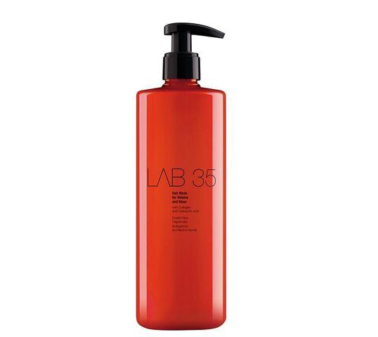 Kallos LAB 35 Hair Mask For Volume and Gloss wzmacniająca maska do włosów 500ml