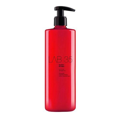 Kallos LAB 35 Signature Hair Mask rozpieszczająca i wzmacniająca maska do włosów suchych i łamiących się 500ml
