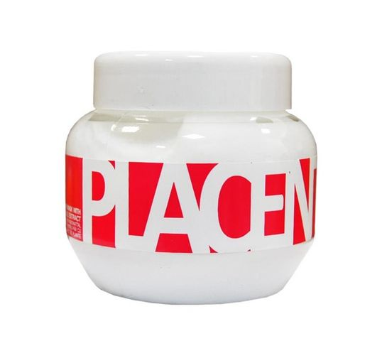 Kallos Placenta Hair Mask With Vegetable Extract maska z wyciągiem z łożysk roślin do włosów suchych i zniszczonych 275ml