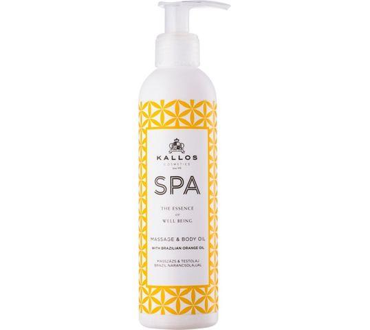 Kallos Spa Massage & Body Oil olejek do masażu ciała Brazilian Orange Oil 200ml