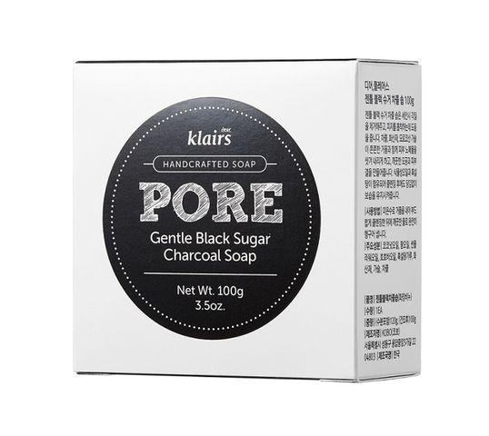 Klairs Pore Gentle Black Charcoal Soap mydło zwężające pory w kostce 100g