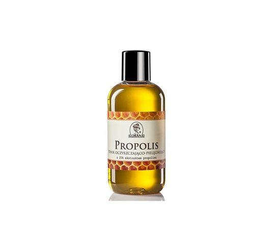 Korana tonik oczyszczający do cery tłustej z 20% ekstraktem propolisu 200 ml