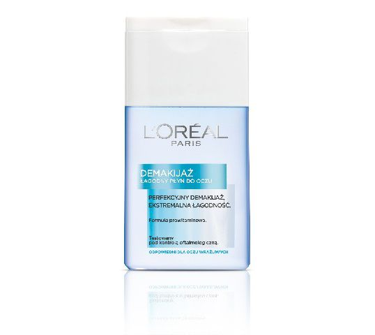L'Oreal Demakijaż płyn do demakijażu oczu łagodny 125 ml