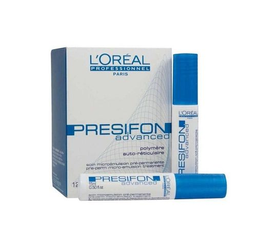 L'Oreal Professionnel Presifon Advanced Pre-Perm Micro-Emulsion Treatment odżywka do włosów przed trwałą 12x15ml