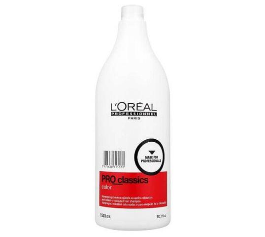 L'Oreal Professionnel Pro Classics Color Shampoo szampon do stosowania bezpośrednio po koloryzacji 1500ml