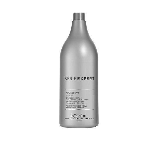 L'Oreal Professionnel Professionnel Serie Expert Magnesium Silver Shampoo szampon rozjaśniający do włosów siwych (1500 ml)