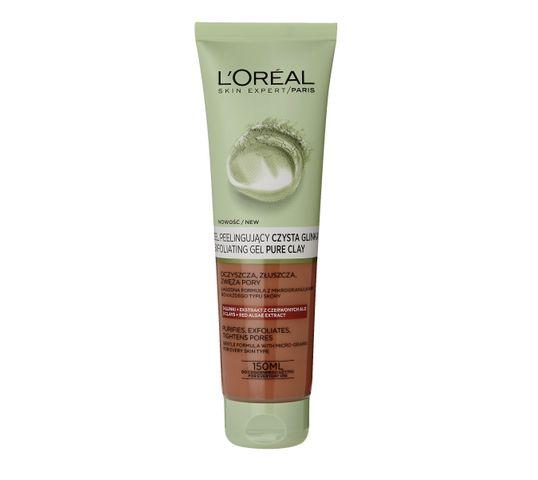 L'Oreal Skin Expert Czysta Glinka  Żel peelingujący do twarzy 150 ml