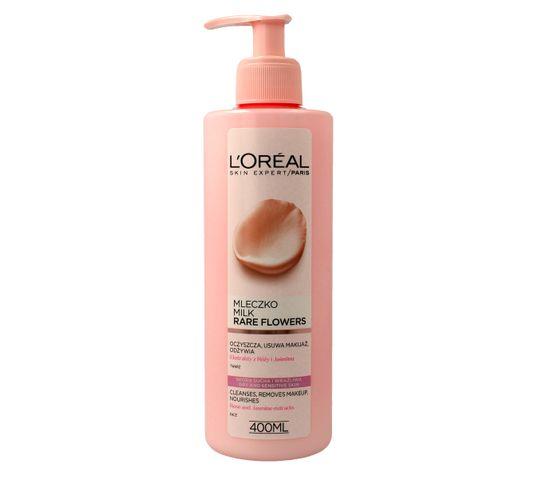 L'Oreal Skin Expert Mleczko do demakijażu twarzy Rare Flowers 400 ml