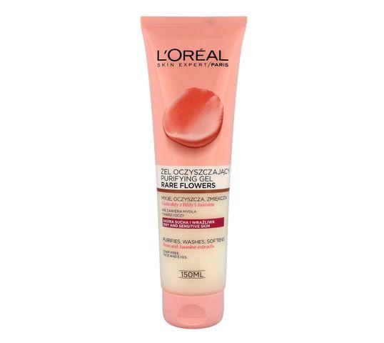 L'Oreal Skin Expert Rare Flowers Żel oczyszczający do twarzy 150 ml