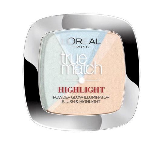 L'Oreal Paris True Match Highlight Powder rozświetlający puder do twarzy 302.R/C Icy Glow (9 g)