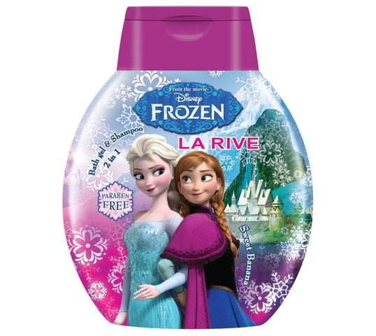 La Rive Disney Frozen żel po d prysznic 2w1 do włosów i ciała 250 ml