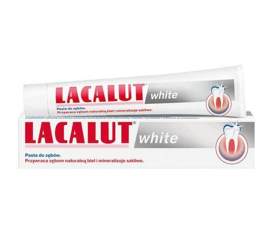 Lacalut White pasta do zębów wybielająca 75 ml