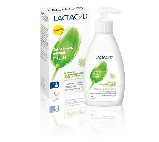 Lactacyd Fresh Żel do higieny intymnej odświeżający z pompką 200 ml