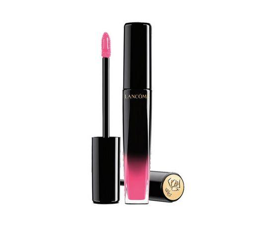 Lancome L'Absolu Lacquer Lip Gloss – błyszczyk do ust 344 Ultra Rose (8 ml)
