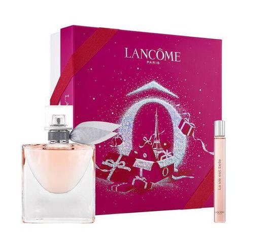 Lancome La Vie Est Belle zestaw woda perfumowana spray 50ml + miniatura wody perfumowanej spray 10ml (1 szt.)