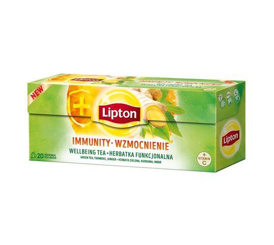 Lipton Herbata funkcjonalna Wzmocnienie 20 torebek 32g