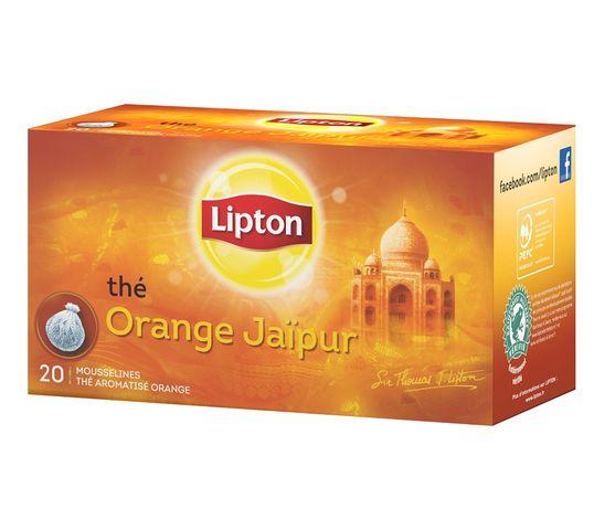 Lipton Orange Jaipur herbata czarna aromatyzowana 20 torebek 40g