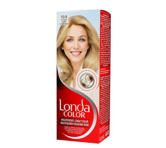 Londa Color farba do włosów Cream 10/8 Platynowo srebrny