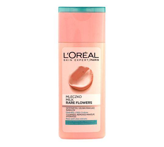 L'Oreal Skin Expert mleczko do demakijażu twarzy Rare Flowers cera normalna i mieszana (200 ml)