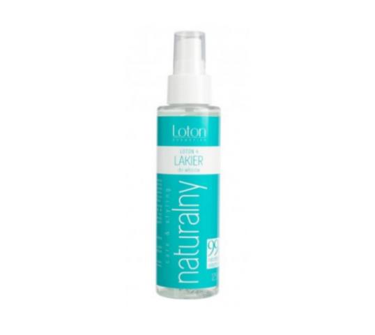 Loton 4 Naturalny lakier do włosów z atomizerem (125 ml)