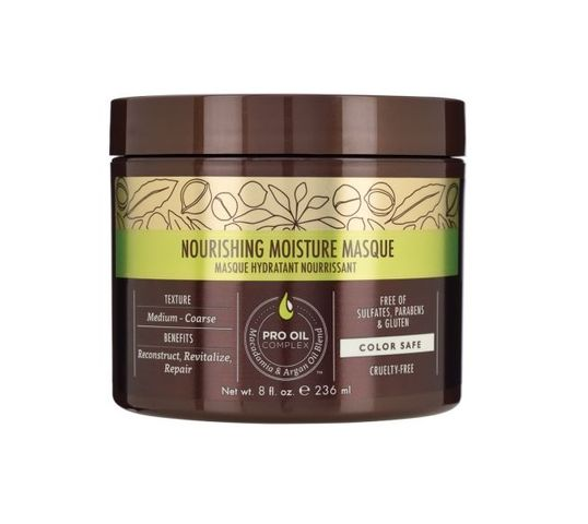 Macadamia Professional Nourishing Moisture Masque maska do włosów suchych 236ml