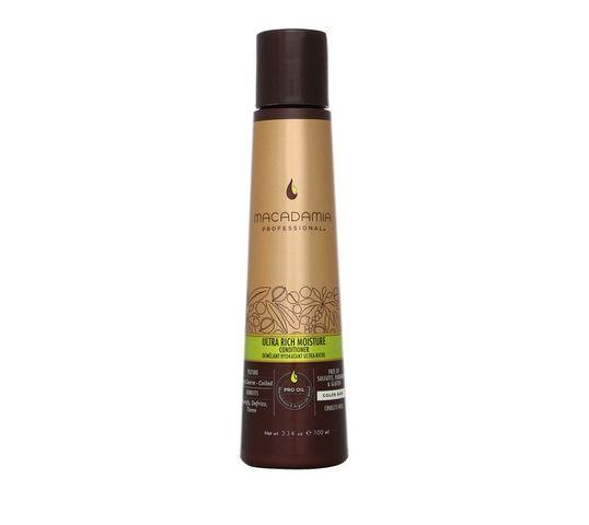Macadamia Professional Ultra Rich Moisture Conditioner nawilżająca odżywka do włosów grubych 100ml