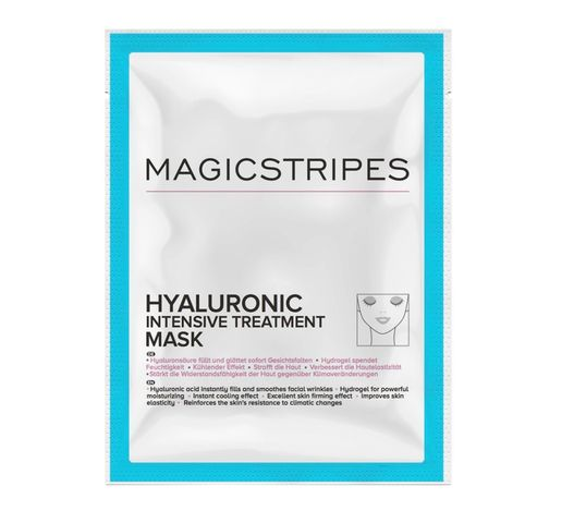 Magicstripes Hyaluronic Intensive Treatment Mask maska do twarzy kuracja hialuronowa 1szt
