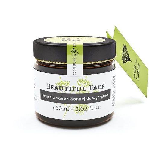 Make Me Bio Beautiful Face krem dla skóry skłonnej do wyprysków 60ml