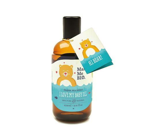 Make Me Bio I Love My Baby Oil olejek do ciała dla dzieci 250ml