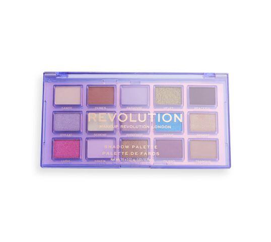 Makeup Revolution Paleta cieni do powiek odblask Ultra Violet (1 szt.)