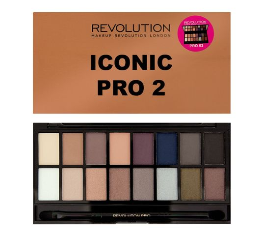 Makeup Revolution Iconic Pro 2 zestaw cieni do powiek (16 g)