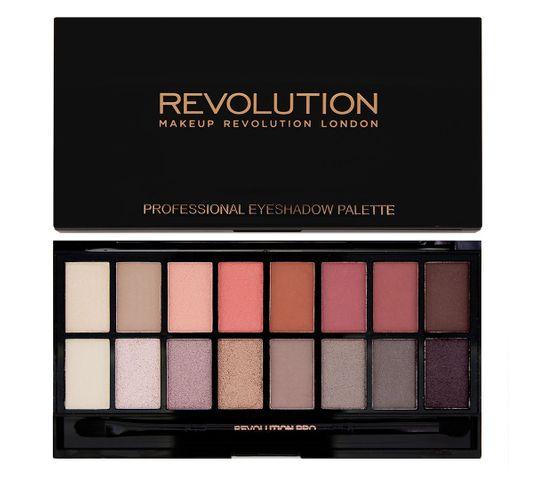 Makeup Revolution New-Trals vs Neutrals zestaw cieni do powiek (16 g)