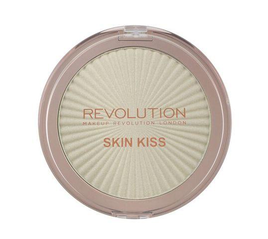 Makeup Revolution Skin Kiss - rozświetlacz do twarzy Ice Kiss (14 g)