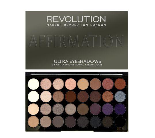 Makeup Revolution Ultra Palette 32 - zestaw cieni do powiek Affirmation (16 g)