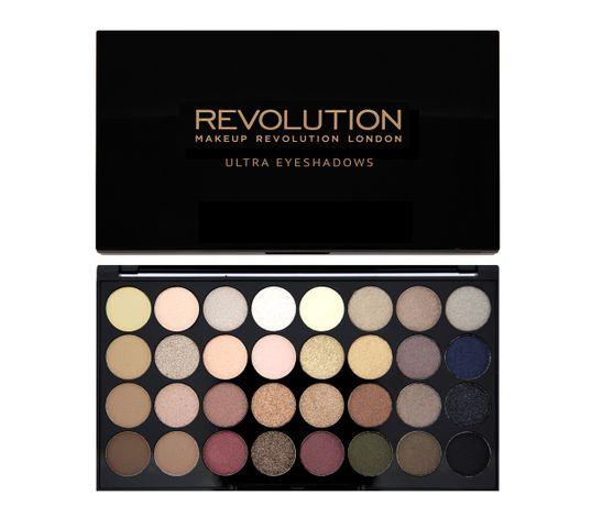 Makeup Revolution Ultra Palette 32 - zestaw cieni do powiek Flawless (16 g)