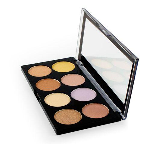 Makeup Revolution Ultra Strobe and Light Palette - zestaw do konturowania twarzy (15 g)