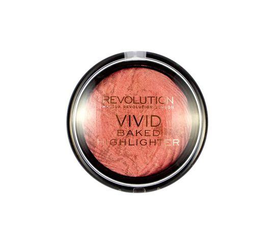 Makeup Revolution Vivid Baked  Rose Gold Lights Rozświetlacz do twarzy 7.5 g