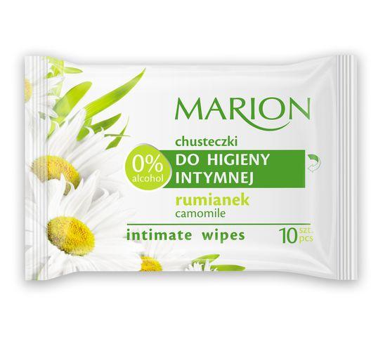 Marion – chusteczki do higieny intymnej z rumiankiem (1 op.)