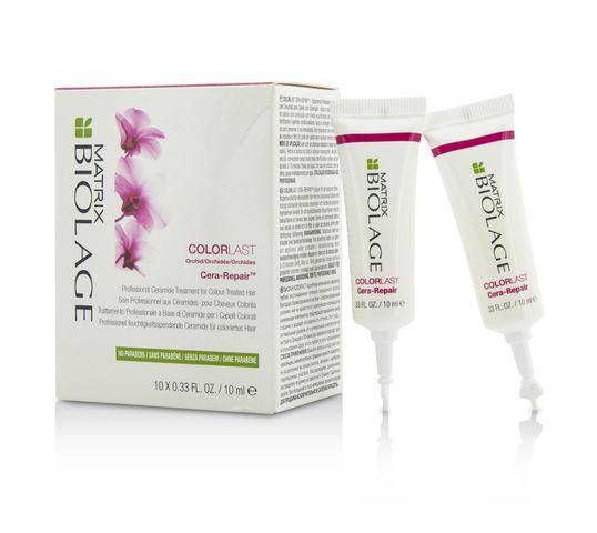 Matrix Biolage Colorlast Professional Ceramide Treatment For Colour - Treated Hair ampułki chroniące kolor włosów 10x10ml