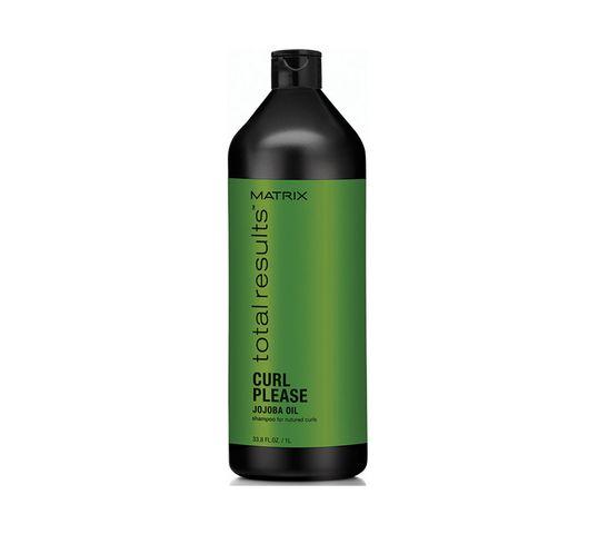 Matrix Total Results Curl Please Jojoba Oil Shampoo szampon do włosów kręconych 1000ml